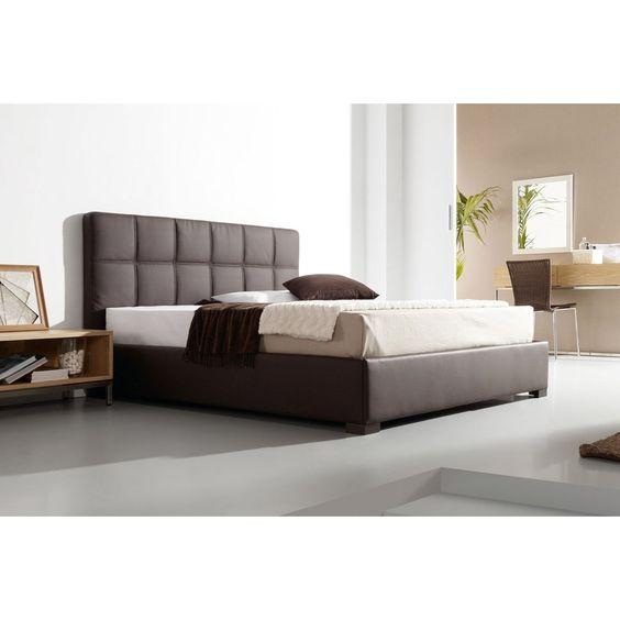 Cabecero de cama tapizado roma es un cabecero tapizado en - Cabecero de cama acolchado ...