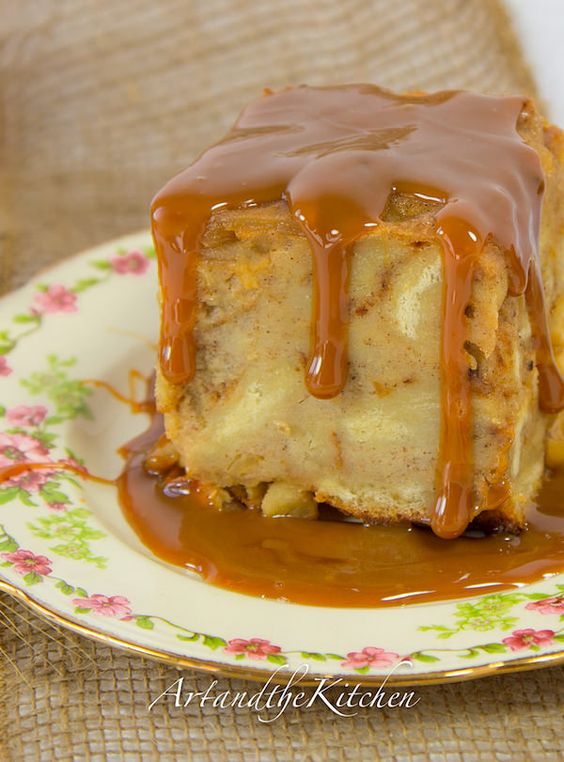 Apple bread puddings, Bread puddings and Apple bread on Pinterest