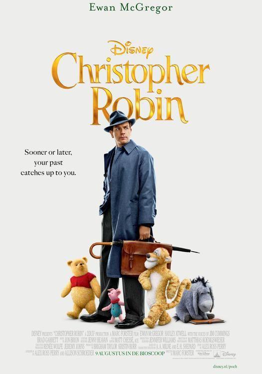 Christopher Robin Ov From 9 August In Nl Cinemas Christopher Robin Ewan Mcgregor Film