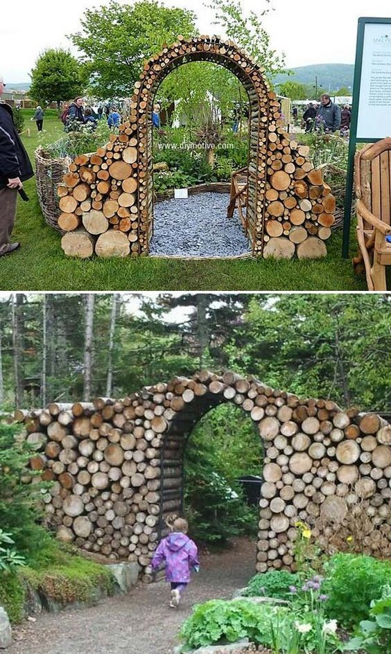 19 Amazing Diy Tree Log Projects For Your Garden Cancelli Da