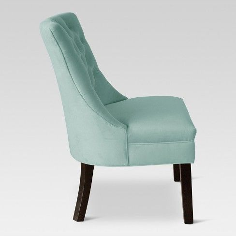 Miraculous Accent Chairs Teal Threshold Blue Home In 2019 Ibusinesslaw Wood Chair Design Ideas Ibusinesslaworg