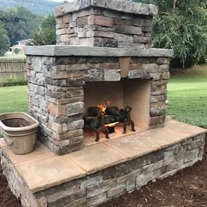 Pima Ii Diy Outdoor Fireplace Construction Plan In 2020 Diy Outdoor Fireplace Outdoor Fireplace Plans Outdoor Fireplace