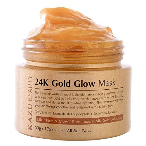 Kazu Beauty 24k Gold Glow Mask 176 Oz Continue To The Product At The Image Link Affiliate Link Facialmask Glow Mask Facial Skin Care Mask
