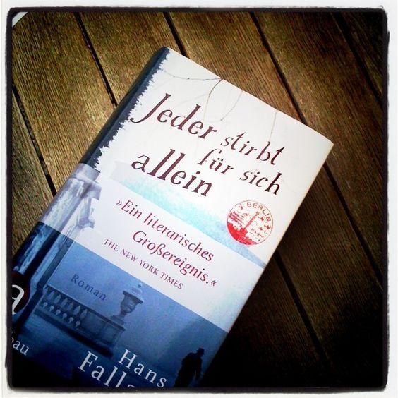 Everyman Dies Alone, Seul dans Berlin, Ognuno muore solo, לבד בברלין.    Für mich eine der wichtigsten Wieder-/Neuauflagen 2011.