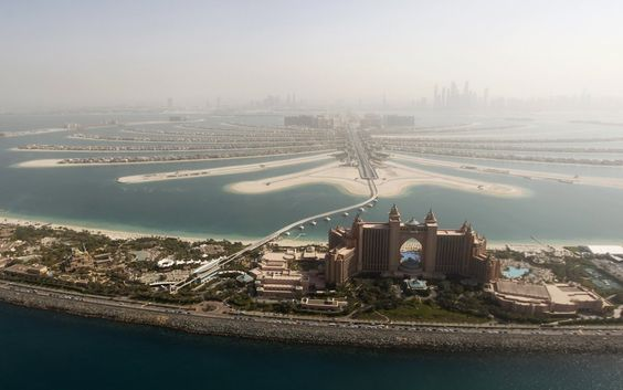 Aerial photos of Dubai - Dubai is a city of superlatives. Located in the United Arab Emirates, the ritzy metropolis is home to some of the tallest, biggest, and most luxurious structures in the world.