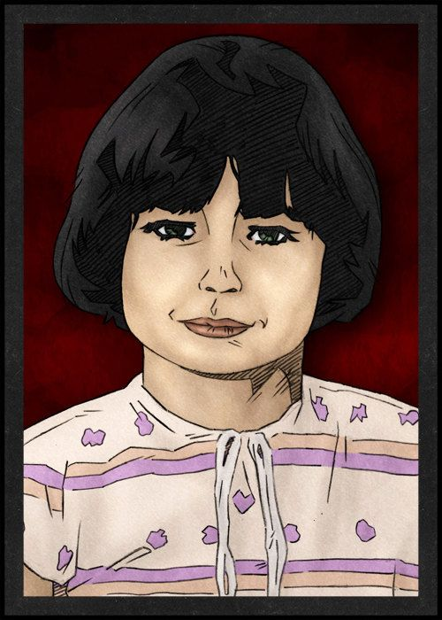 mary Bell is Card Number 49 from the New Serial Killer Trading Cards by SerialKillerBiz on Etsy