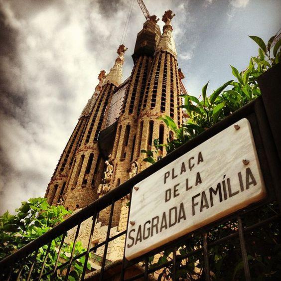 Sagrada Família em Barcelona, Cataluña