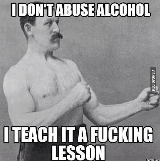 Overheard my drunk friend