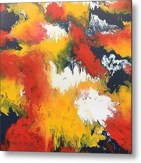 Abstract Metal Print By Kelly Goss In 2020 Abstract Acrylic Prints Abstract Canvas