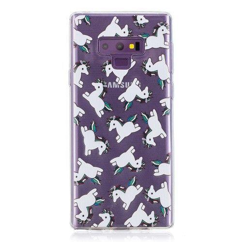 Coque Samsung Galaxy Note 9 multiples licornes | Galaxy note ...