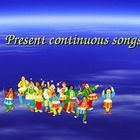 Present Continuous Songs for Elementary level with mp3 files....