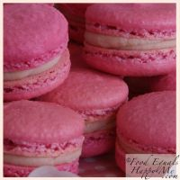 Strawberry Macarons   Food Equals Happy Me