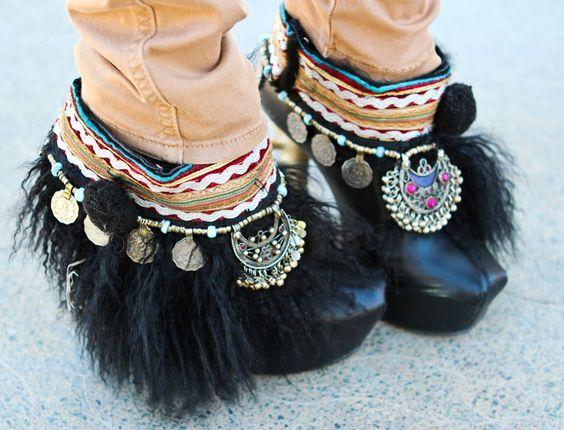 Cute boot accessories