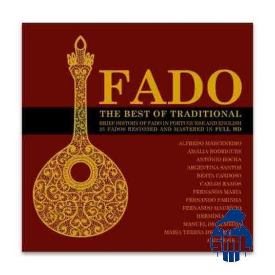 Coletâneas de fado, encontra no Salão musical de Lisboa.