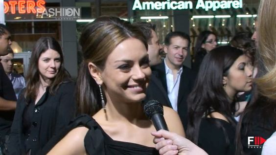 """""""MILA KUNIS"""" Red Carpet Style by Fashion Channel"""