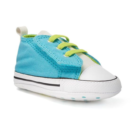 2ce978ac4b13e5 Baby Converse Chuck Taylor All Star First Star Easy Slip Crib Shoes ...