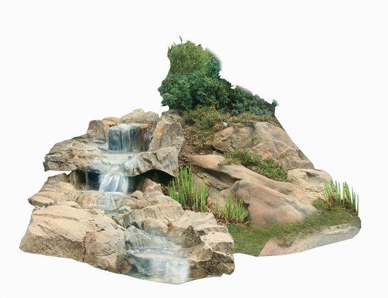 Bachlauf Wasserfall Gartenteich Bachlaufschalen Set II: Amazon.de: Garten