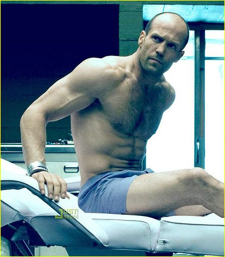 Jason Statham...Looking Gorgeous as Always!! he should be topless more often