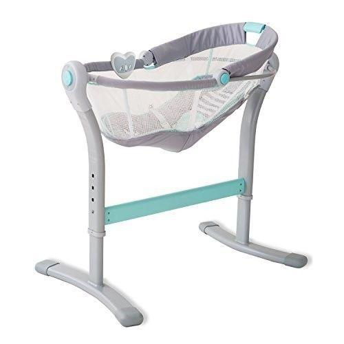 Baby Bedside Sleeper Infant Adjustable Rocking Vibration Sounds