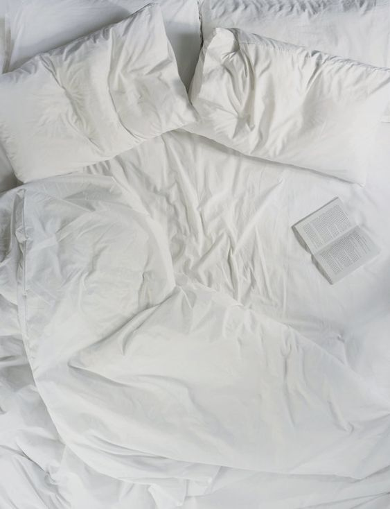 Your Bed Can Be Just As Heavenly As That Comfy Hotel Bed To get hotel-worthy rest at home, keep your sleep sanctuary simple by stocking it with white and fluffy pillows, bed sheets and duvets.