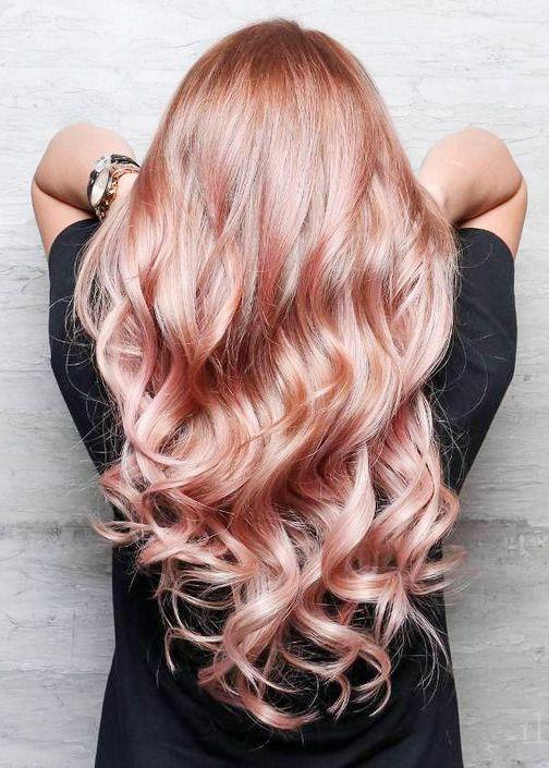 HAPPY ADORNING — Rose Gold Hair Envy