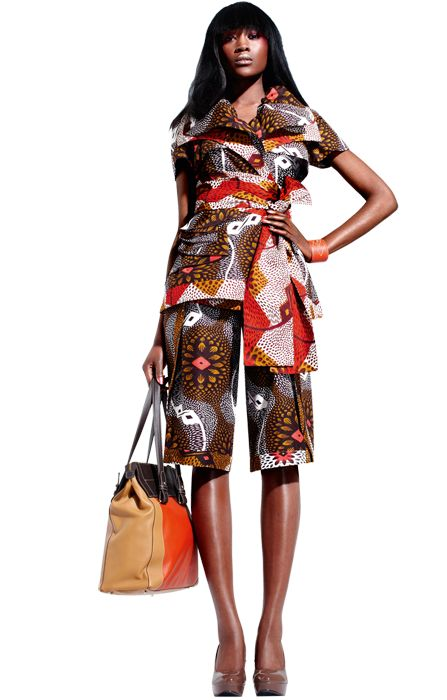 The first Vlisco collection of 2012