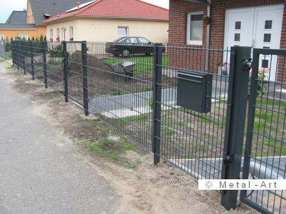 Moderne Zäune Metall 2015 | Gartenzaun | Pinterest | Zäune Metall