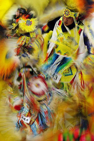 """Celebration of Nations ~ Red Paint Powwow 2012"" by Vicki Pelham 