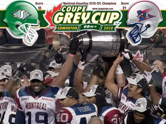 Montreal Alouettes - Grey Cup Champions 2010