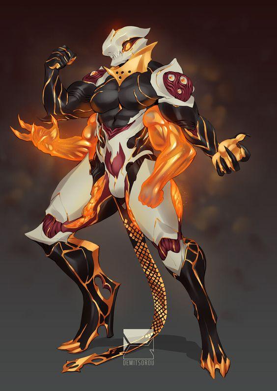 Artstation Nidus Phryke Commission Demi Matus Warframe Art Fantasy Character Design Creature Concept Art