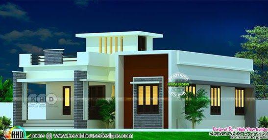 Single Floor 2 Bedroom Attached House Design Kerala House Design Single Floor House Design Simple House Design