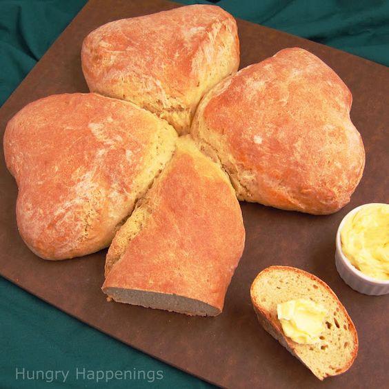 Irish Soda Bread Shamrock