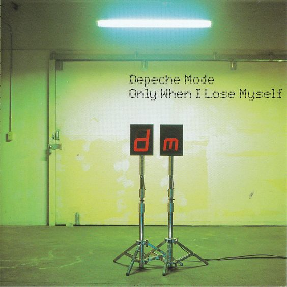 Depeche Mode – Only When I Lose Myself (single cover art)