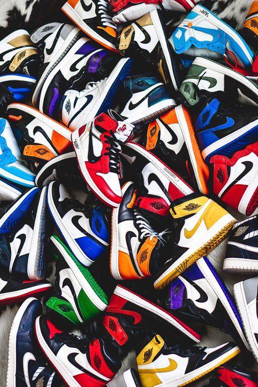 Jordan shoes wallpaper, Sneakers
