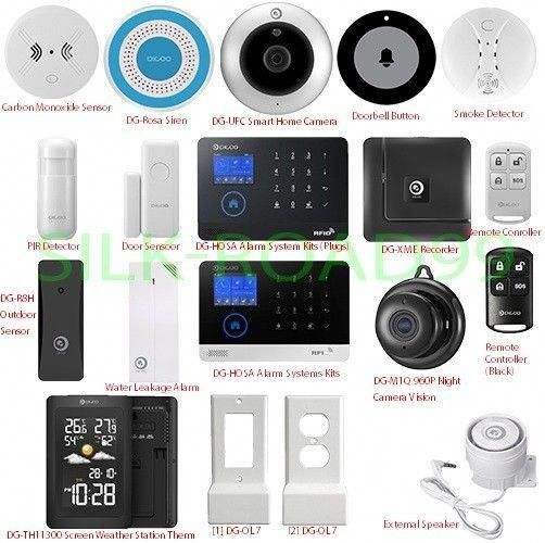 Digoo Wireless Security Alarm System Burglar Diy Door Sensor Motion Infrared Pir Digoosystemsensor Type Home Security Diy Home Security Home Security Systems