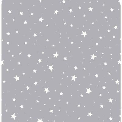 Brewster Grey Stars Grey Paper Strippable Roll Covers 56 4 Sq Ft 2679 002125 The Home Depot Grey Wallpaper Iphone Geometric Wallpaper Simple Iphone Wallpaper