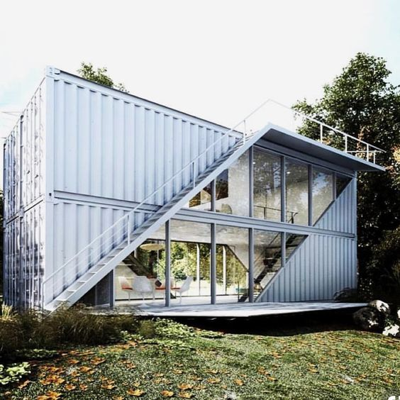 • • Would you live in this container home? • • COMMENT & TAG Someone • • • • • • #invest #goals #entrepreneurlifestyle #investor #investors #investing #entrepreneur #entrepreneurlife #residentialrealestate #exteriordesign #container #containers #containerhome #containerhomes #containerhouse #modern #architecture #architecturelovers #architecturephotography #home #homedecor #homemade #homesweethome #homedesign #homestyle #Homes #homedecoration #homestyling #hot
