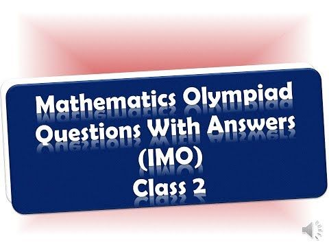 2019 2020 Math Olympiad Questions With Answers For Grade 2