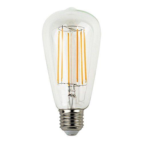 2 Stück, dekorativ, Vintage, 220 V LED-Glühlampen, 6 W, E27-Sockel, Lampe, Leuchte, von Schiff E-SIMPO aus China