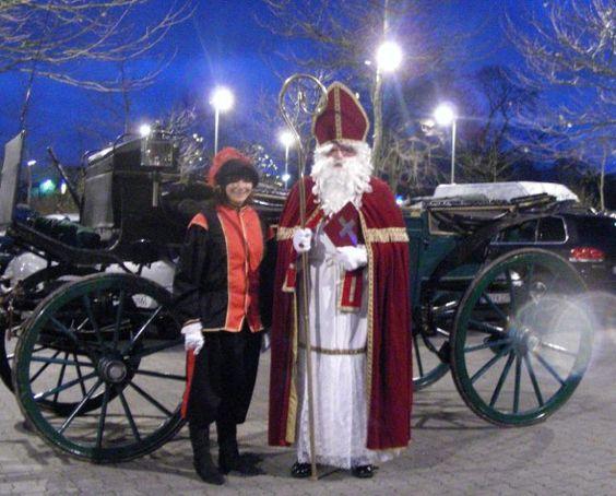 Der Nikolaus/Weihnachtsmann kommt zu Ihnen!