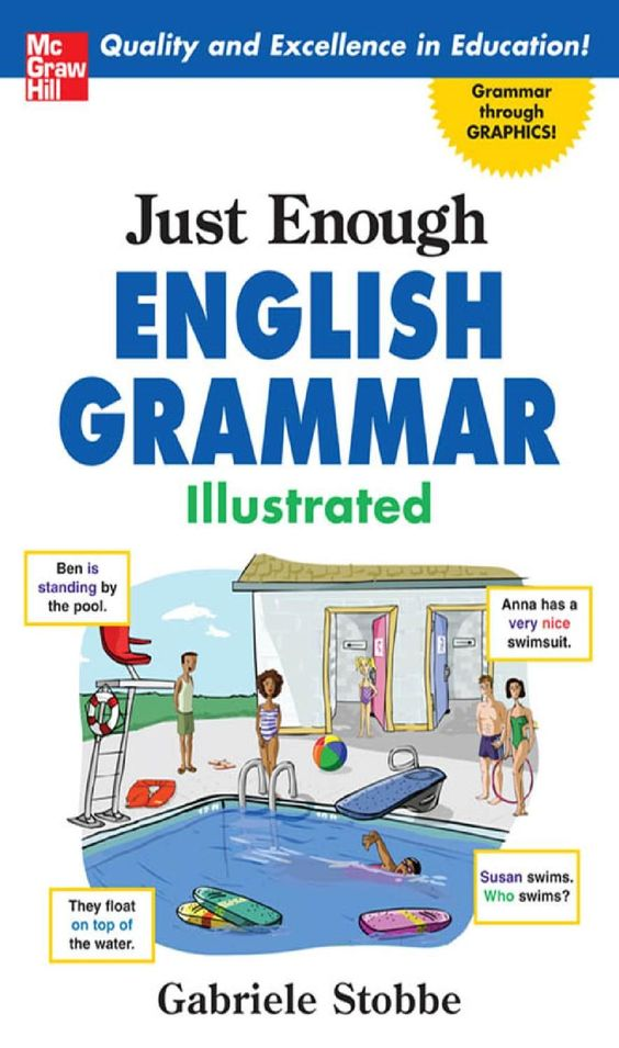 Just Enough English Grammar Illustrated English Grammar Book English Grammar Learn English