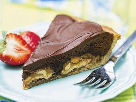 blondie-brownie pie