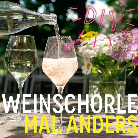 http://eatsmarter.de/ernaehrung/news/weinschorle-selber-machen Wir verraten Euch, wie Ihr Weinschorle mal anders zubereiten könnt.