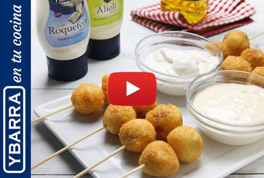 Receta Bolitas de queso y chorizo - Ybarra en tu cocina