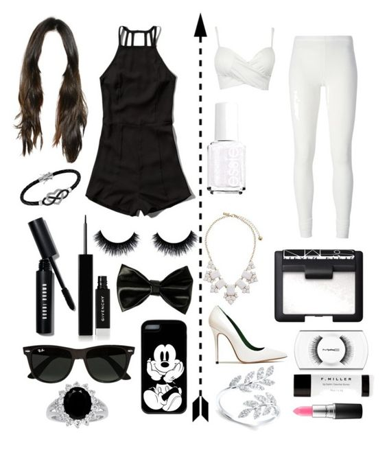 """""""Black and White"""" by mcvolleyball72 ❤ liked on Polyvore featuring interior, interiors, interior design, home, home decor, interior decorating, Abercrombie & Fitch, Jewel Exclusive, Bobbi Brown Cosmetics and Givenchy"""
