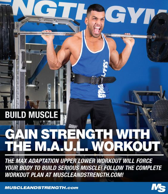 This workout combines the main mechanisms of muscle hypertrophy to help you build some serious muscle. Try this split to put on quality summer mass!