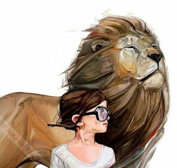 soy yo y el rey leon en la eternidad! #QueVivaLaGracia #QueVivaLaSeguridadDeLaSalvación
