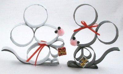 paper roll mice