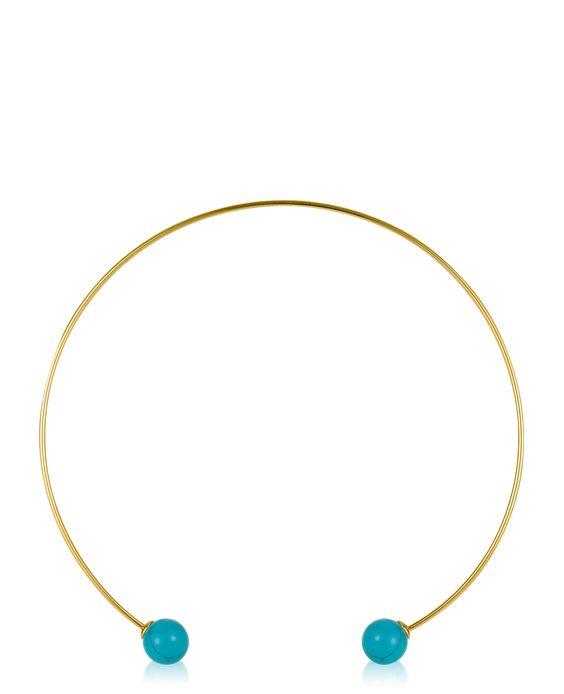 Hanna Choker Turquoise | New | DSQ206.COM