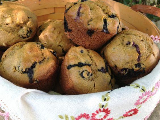 Blueberry-Lemon Muffins
